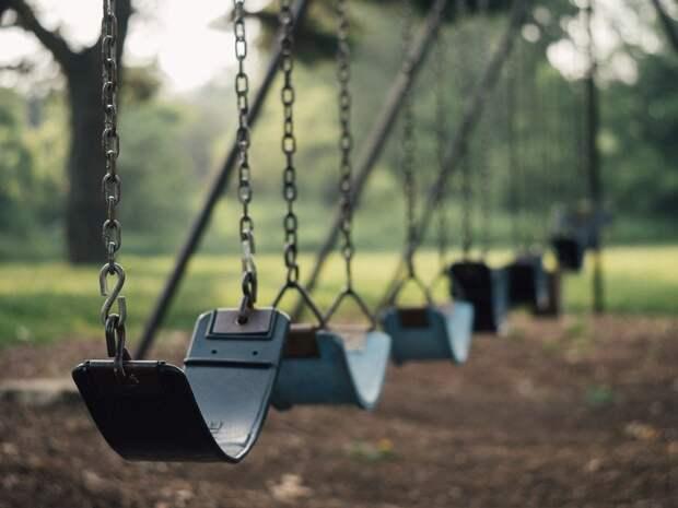 Качели, Детская Площадка, Размахивая, Парк, Развлечения