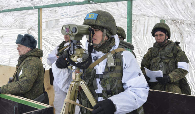Россия направила миротворцев в Нагорный Карабах