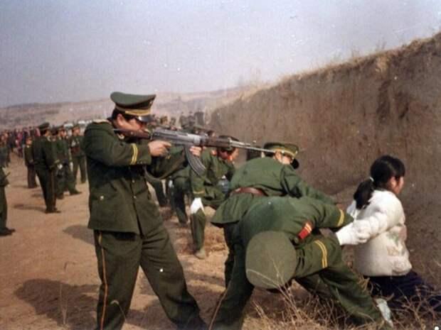 Расстрел за коррупцию в Китае китай, коррупция, россия