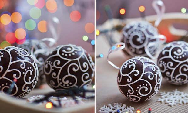 как сделать шоколадные украшения