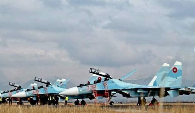 Армянские Су-30СМ оказались безоружными