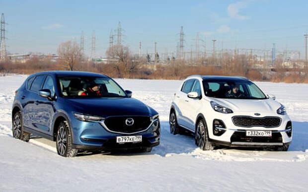 Сравнительный тест Kia Sportage и Mazda CX-5
