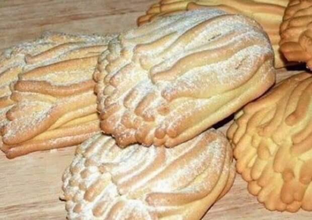 Отменное печенье «Хризантемы»: вкус из детства