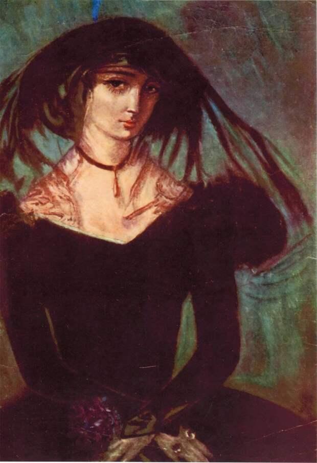 Натела Ианкошвили. Портрет Нины Чавчавадзе.