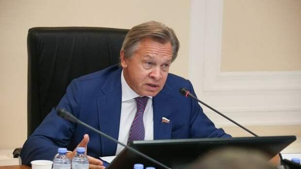 Пушков оценил похвалу шведского издания в адрес Горбачева