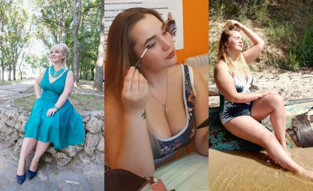 Когда формы не вмещаются в шаблоны: 10 фото нижегородских моделей «плюс-сайз», не стесняющихся себя