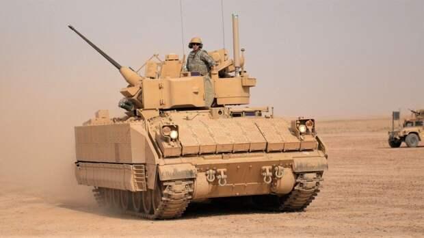Американская армия столкнулась с проблемами при создании новой боевой машины пехоты