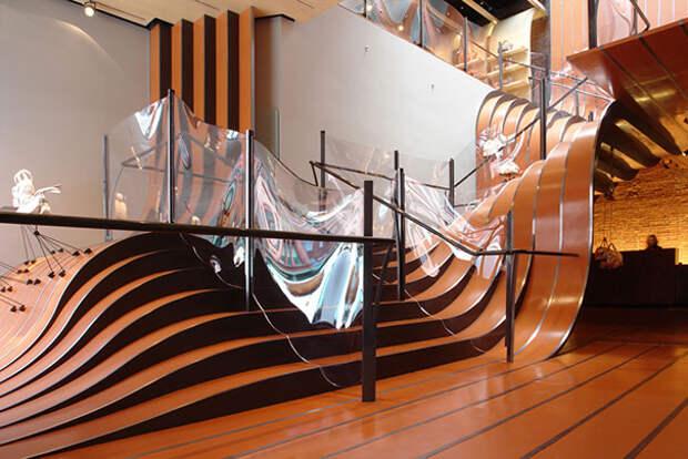 безопасная лестница в доме