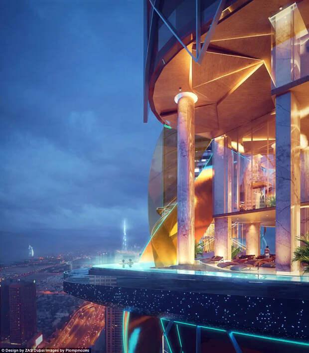 ВДубае откроют первый вмире отель ссобственными джунглями