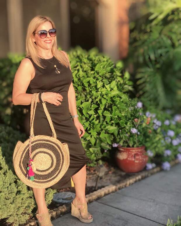 с чем носить платье летом женщинам после 40-50 лет фото 2