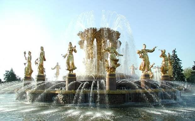 Самые знаменитые фонтаны мира