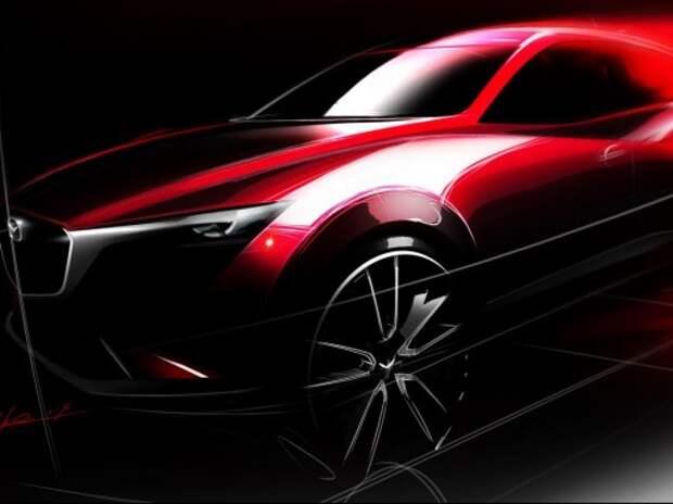 Лос-Анджелес примет новый кроссовер Mazda CX-3, обновленные CX-5 и «шестерку»