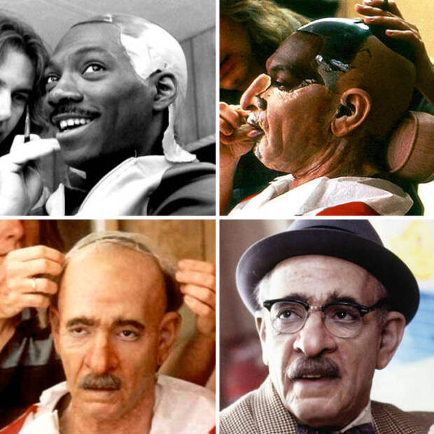 30 фотографий, которые наглядно демонстрируют чудеса голливудского макияжа