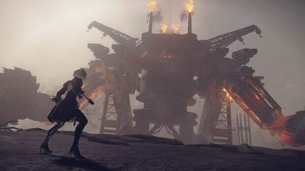 В Nier: Automata нашли режим Score Attack, удалённый из финальной версии