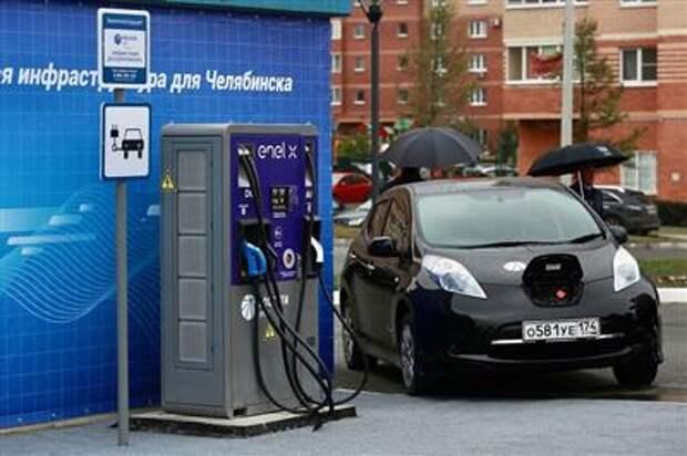 Электромобили в России мало кому интересны и слабо представлены
