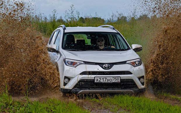 Секретные функции кроссовера Toyota RAV4