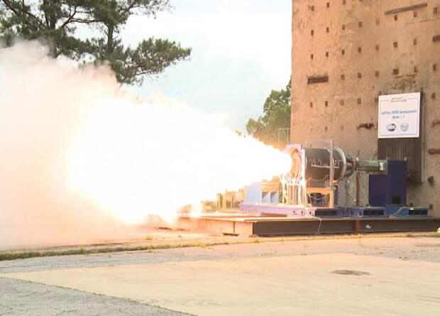 Американцы испытали твердотопливный двигатель для носителя гиперзвукового планера