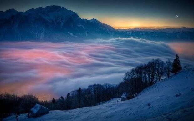 Туман-туманище: города планеты, утопающие в молочной дымке