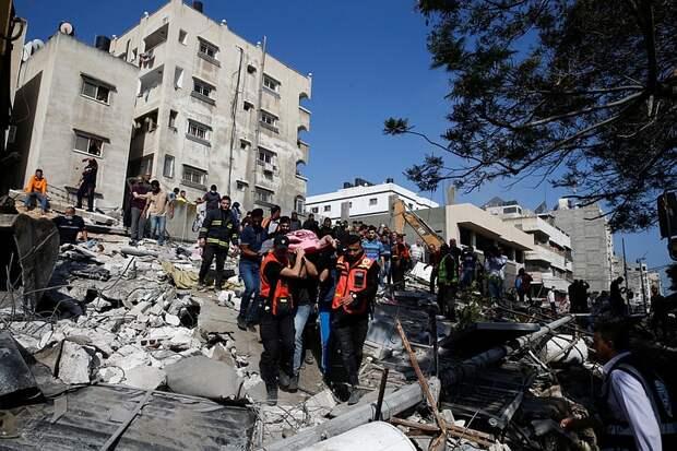 174 человека погибли при обстреле сектора Газа Израилем