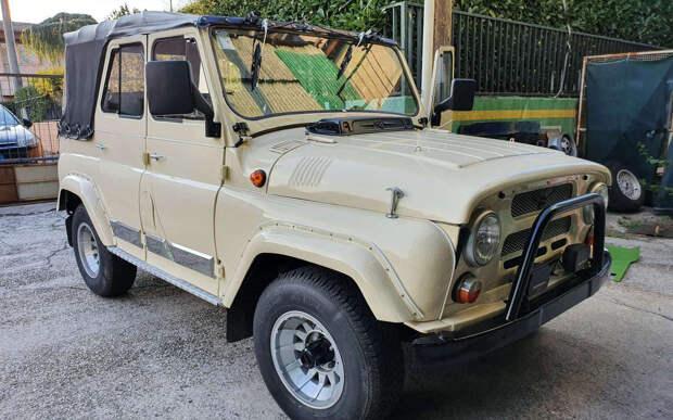 Продают редкий УАЗ-469 – с дизельным мотором