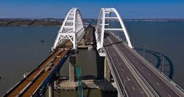 По Крымскому мосту поедут грузовые поезда 1 июня 2020 года