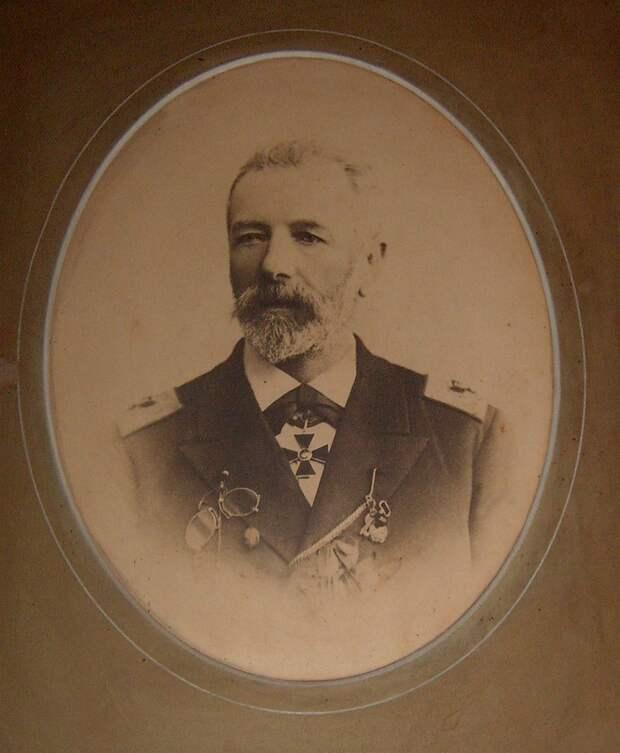 Контр-адмирал Павел Алексеевич Киткин