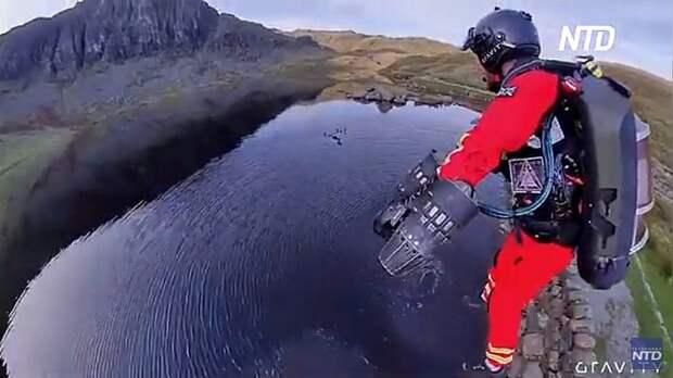 Реактивная помощь: британские врачи обзаведутся летающими костюмами для работы в горах