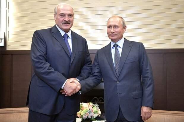 Александр Лукашенко и Владимир Путин. Фото: kremlin.ru/Global Look Press/www.globallookpress.com
