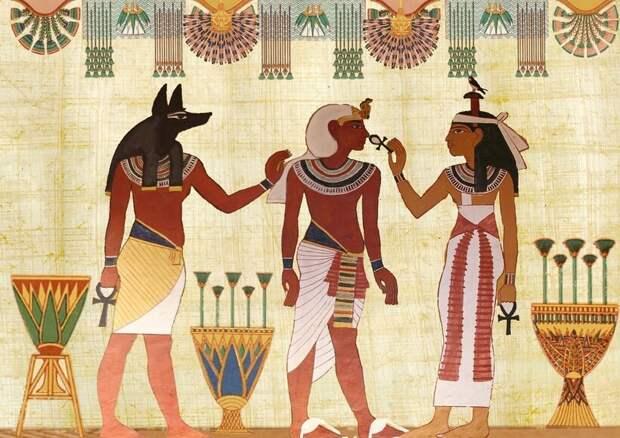 Художники и резчики долгие годы работали над убранством гробниц фараонов, делая их произведениями искусства