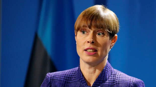 Лидер Эстонии объяснила, почему её внуки ходят в русский детсад