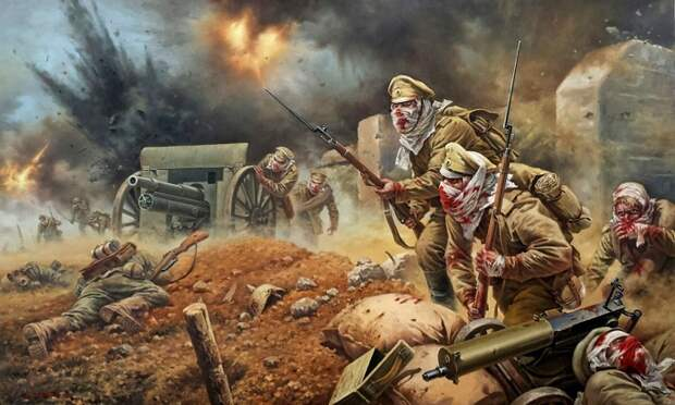 Атака «мертвецов», или Как отравленные русские воины дали отпор немцам и удержали крепость Осовец