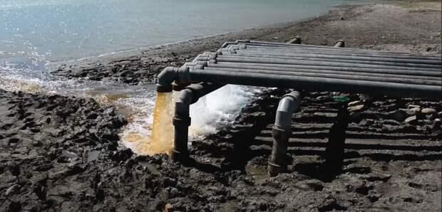 Аммиак сделал Симферопольское водохранилище непригодным к использованию
