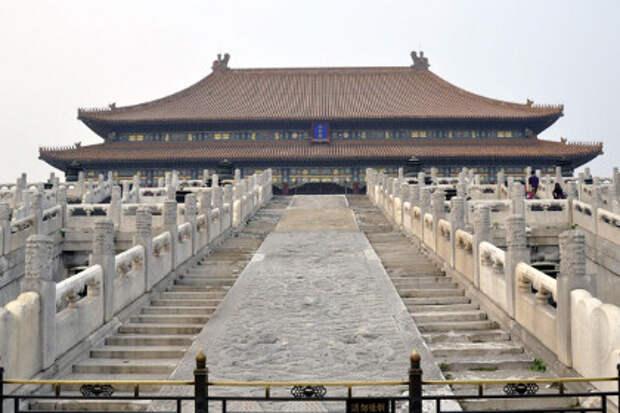 Под Запретным городом обнаружен гигантский дворец