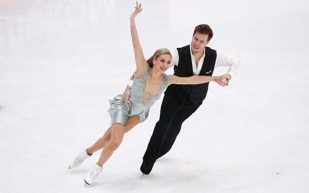 Синицина и Кацалапов — о победе в ритм-танце на Гран-при России: «Благодарны за такие цифры»