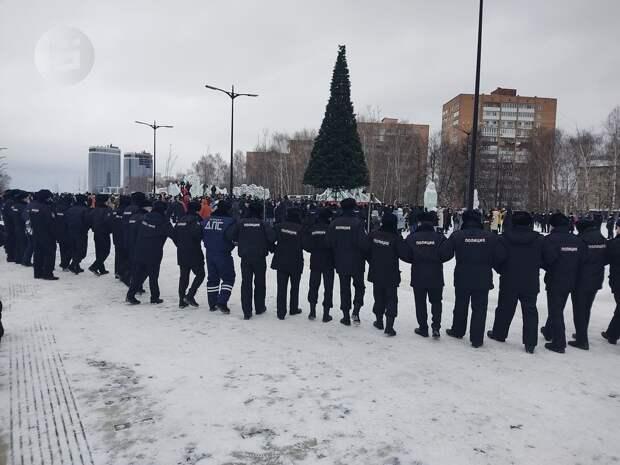 МВД Удмуртии: в результате двух акций протеста в республике задержали 65 человек