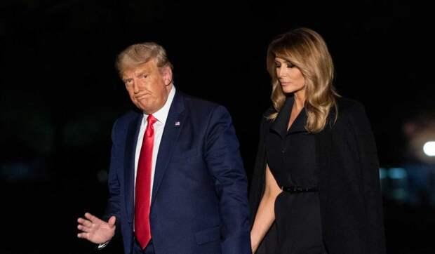 Стало известно о планах Мелании Трамп подать на развод с мужем после выборов