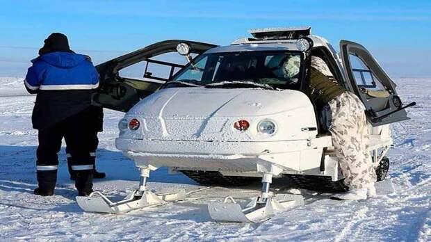 Начато производство снегоходов нового поколения для условий Арктики