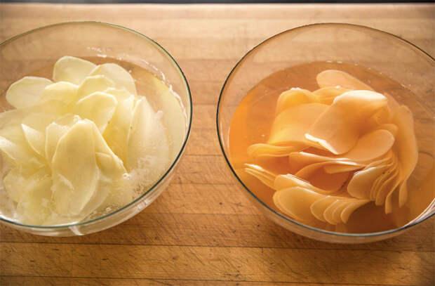 Потрясающие домашние картофельные чипсы