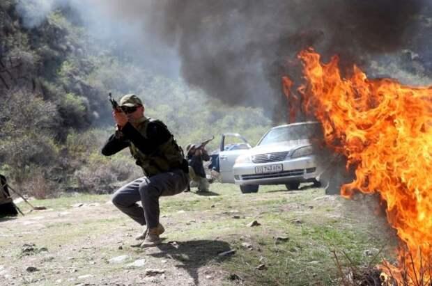 Киргизия сообщила о полном прекращении огня на границе