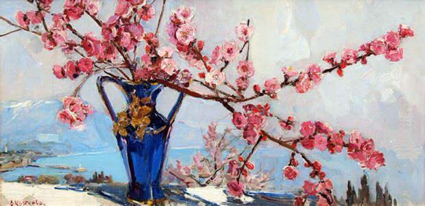 """""""Трудно выбрать - цветок, или море..."""" - красота крымской природы в творчестве художницы Валентины Цветковой"""