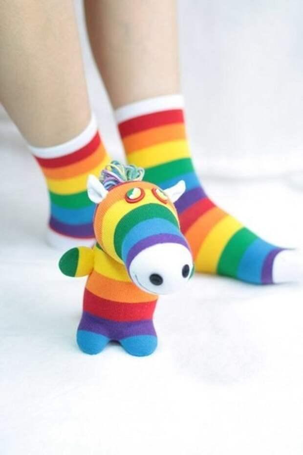 Игрушки из носков. Идеи