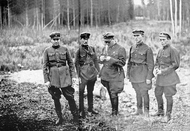 Расстрельная команда НКВД, 1936.