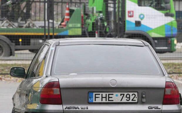 В России ужесточат контроль за автомобилями с иностранными номерами