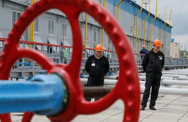 На Украине резко упали запасы газа