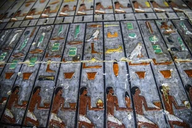 В Египте нашли уникальную цветную гробницу Саккара, археология, гробница, древний египет, история, наука, раскопки, ученые