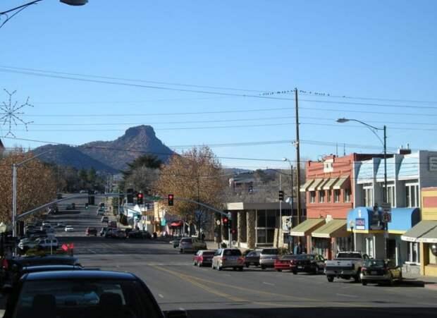 Маленький американский городок. Фото из интернета