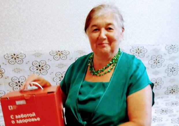 После вакцинации пенсионерка из Щукина получила «коробку здоровья»