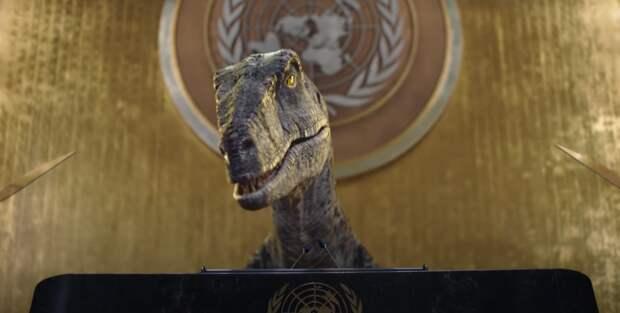 Динозавр стрибуны ООНобратился кмировым лидерам (ВИДЕО)