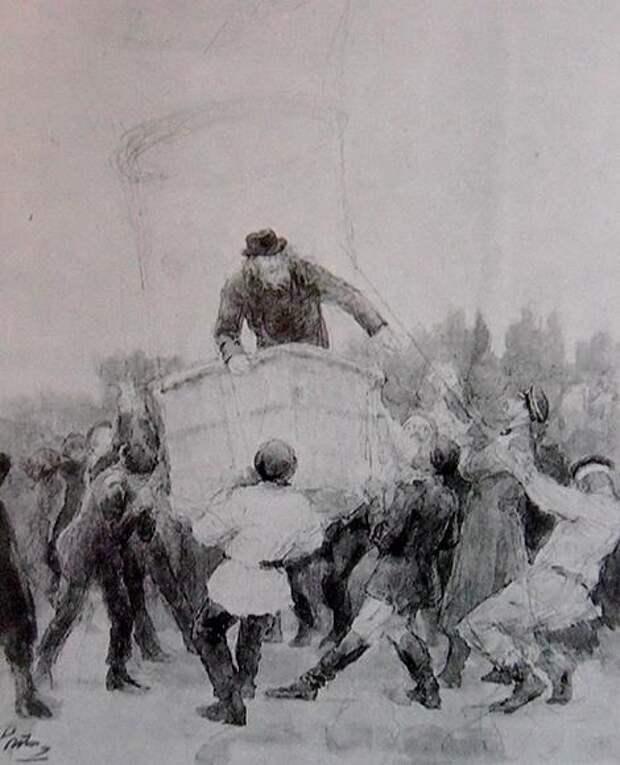 Как Дмитрий Иванович Менделеев на воздушном шаре летал