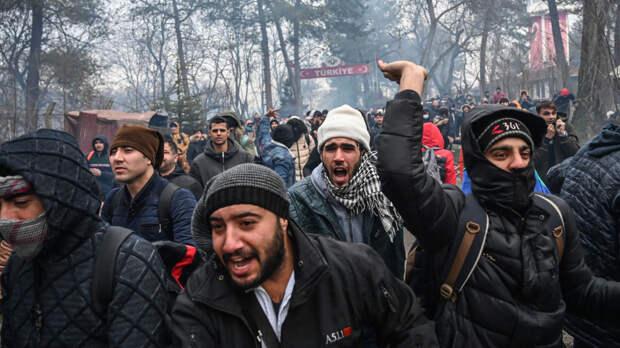 В начала 2020 года Турция уже попыталась применить мигрантов для дестабилизации ситуации в ЕС